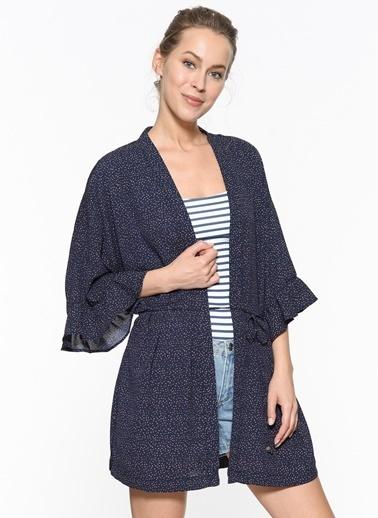 Only Kimono Lacivert